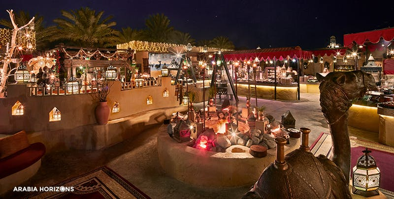 Dining in Bab Al Shams
