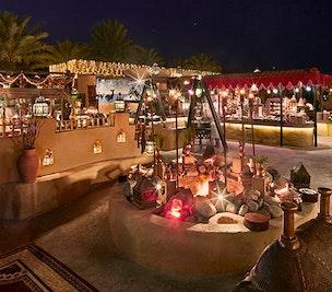Dining in Bab Al Shams