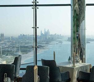 Dining in Burj Al Arab
