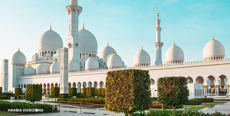 Abu Dhabi - Grand Mosque & Louvre Museum