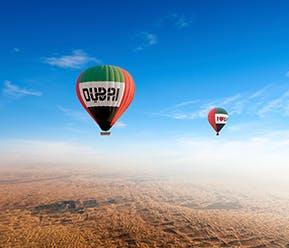 Hot Air Balloon Ride, Breakfast & Wildlife Safari