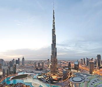 Helicopter Tour & Burj Khalifa