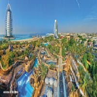 Helicopter Tour & Wild Wadi Waterpark