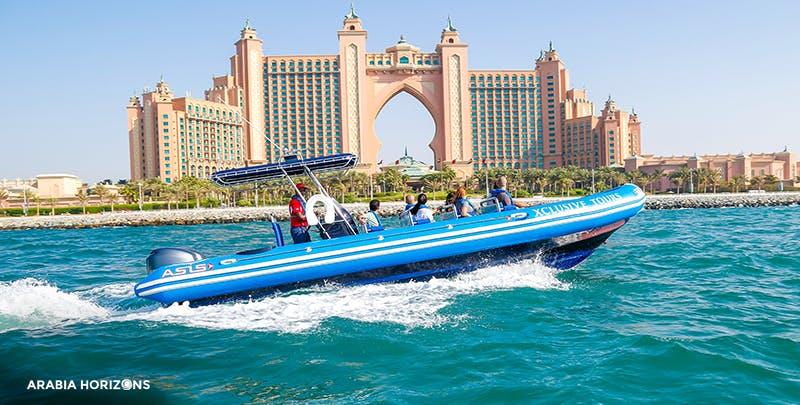 Marina and Palm Cruise (RIB Tour)